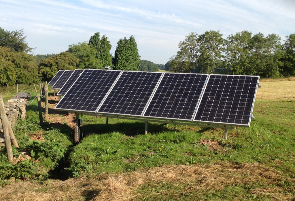 Ground Mounted Solar  @ West Beacon Farm